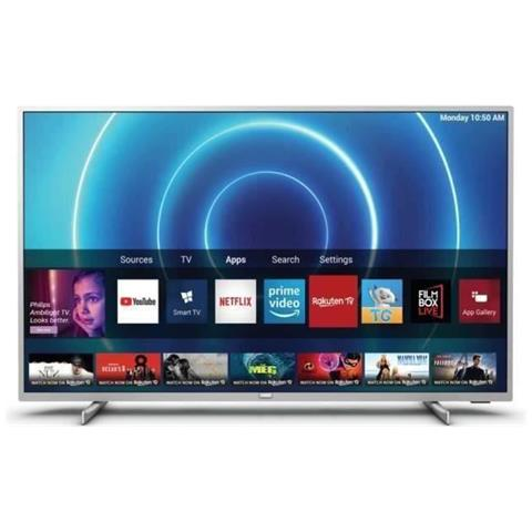 Image of 43pus7555 / 12 Tv Led Uhd - 43 (108cm) - Hdr 10+ - Dolby Sound - Smart Tv - 3xhdmi - 2xusb - Classe Energetica A