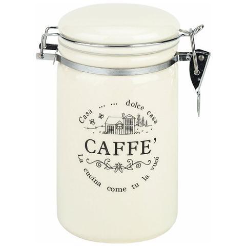 TOGNANA PORCELLANE Linea Dolce casa - Barattolo Caffè in Ceramica, 850ml