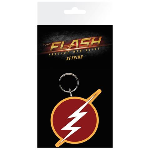 GB EYE LTD Dc Comics - Flash - Logo (Portachiavi Gomma)