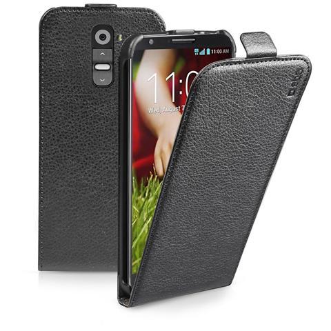 SBS TEFLIPLGG3K SMARTPHONE Custodia FLIP ecopelle con apertura a FLIP e cradle posteriore, colore nero per LG G3