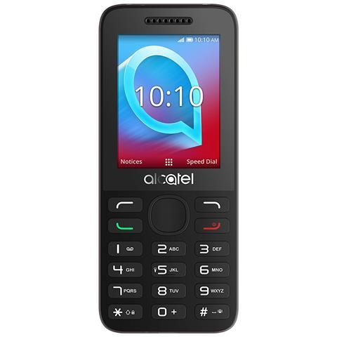 """ALCATEL OT 20-38X Display 2.4"""" Bluetooth +Slot per MicroSD Fotocamera Colore Bianco - Italia"""
