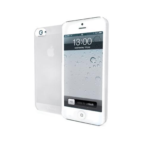 MUVIT Cover ultrasottile per iPhone 5 / 5c - Bianco