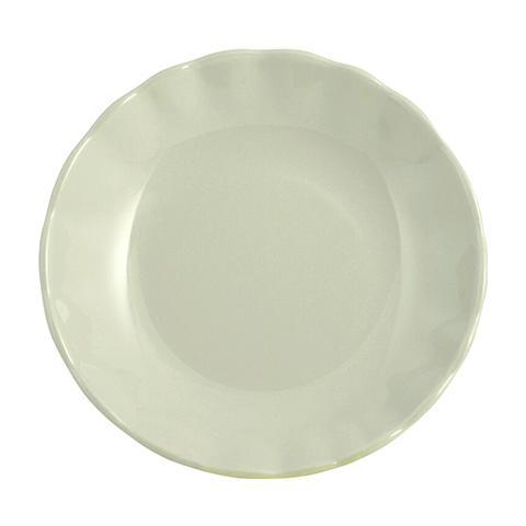 "H&H Set 6 Piatti Fondi Ceramica ""camelia"" Verde Tableware"