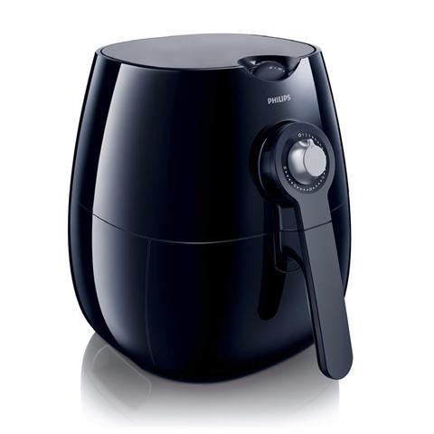 HD9220/20 Friggitrice ad Aria senza Olio Capacità 2,2 Litri Potenza 1425 Watt Colore Nero
