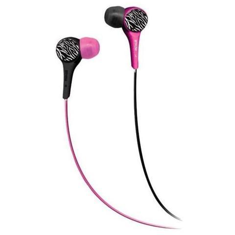 MAXELL Auricolari Audio Wild Buds colore Rosa / Nero