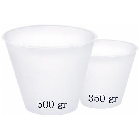 5 Basi In Plastica Per Uovo Di Cioccolato Da 350g
