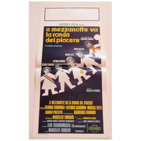 Vendilosubito Locandina Originale Del Film A Mezzanotte Va La Ronda Del Piacere 1975