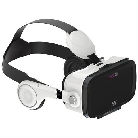 WOXTER Neo VR5, Basato su smartphone, Bianco, Monotone, Acrilonitrile butadiene stirene (ABS)