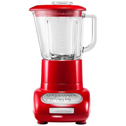 Frullatore Artisan IKSB555R Capacità 1,5 Litri + Caraffa Culinaria da 0.75 Litri Potenza 550 Watt Colore Rosso