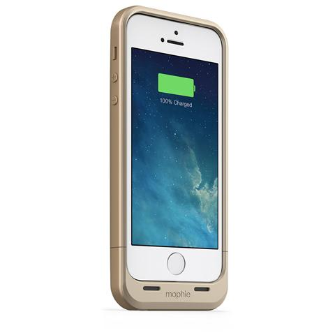 MOPHIE MSTATION mophie juice pack air per iPhone SE, 5/5s - oro