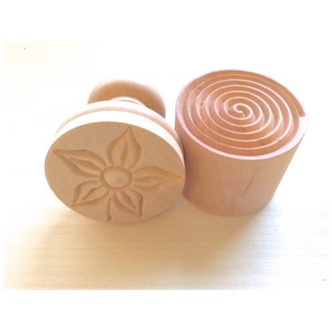 Tagliapasta.com Stampo Per Corzetti, Fiore E Fondo A Spirale. C5101