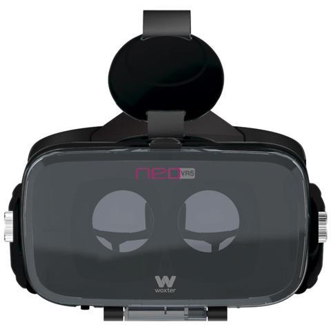 WOXTER Neo VR5, Basato su smartphone, Nero, Monotone, Acrilonitrile butadiene stirene (ABS)