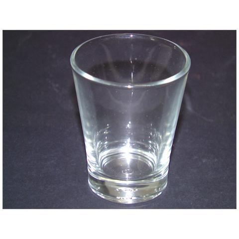 Set 24 Bicchiere Vetro Milano Aperitivo Cl15 Set Da 3
