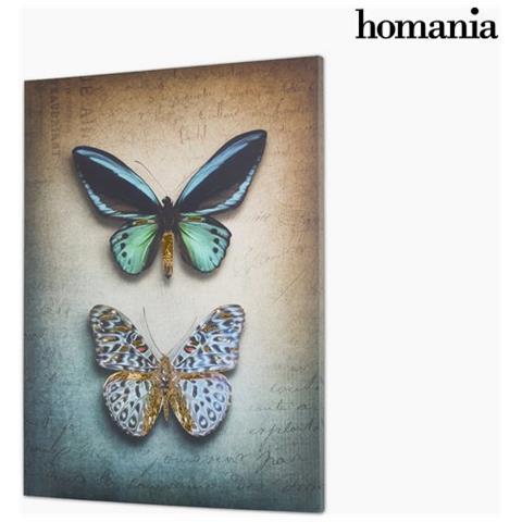 Homania Farfalle Su Tela By