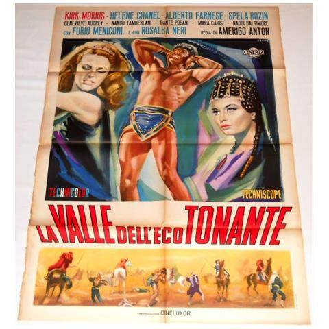 Vendilosubito Manifesto Originale Del Film La Valle Dell' eco Tonante 1964 Raro