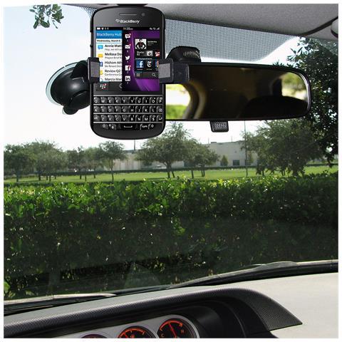 Amzer 96157 Auto Passive holder Nero supporto per personal communication