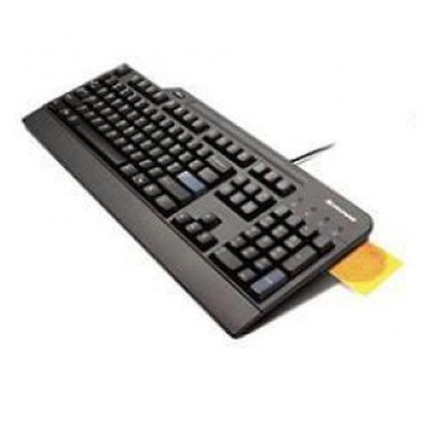 smartcard keyboard lettore schede memoria integrato usb - colore nero