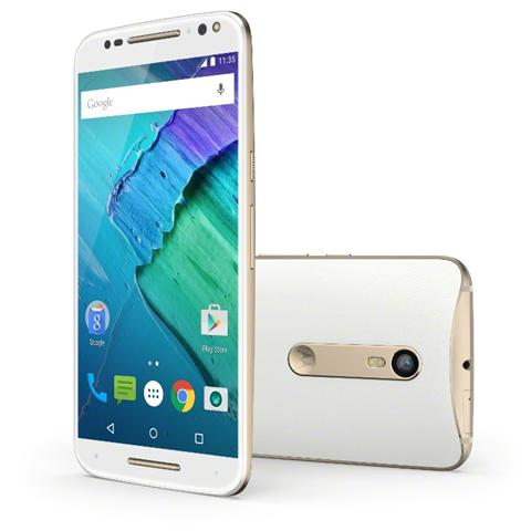 Moto X Style White Display IPS 5.7'' Quad HD Hexa Core Ram 3GB Storage 32GB +Slot WiFi BT 4G / LTE Doppia Fotocamera 21Mpx / 5Mpx Android 5.1 - Italia