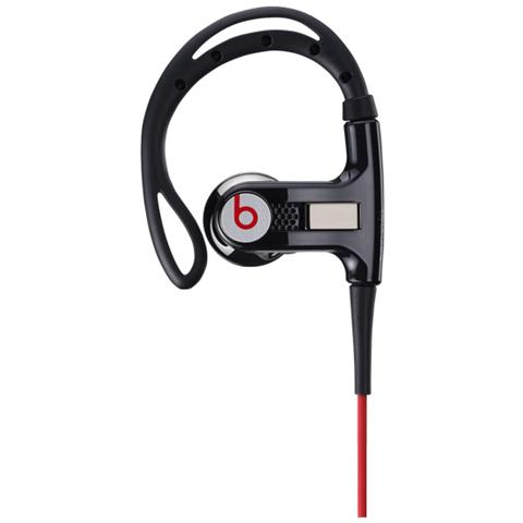 """Beats by Dre Beats by Dr. Dre Powerbeats, Stereofonico, Nero, Interno orecchio, Cablato, 3.5 mm (1/8"""") , 1,21m"""