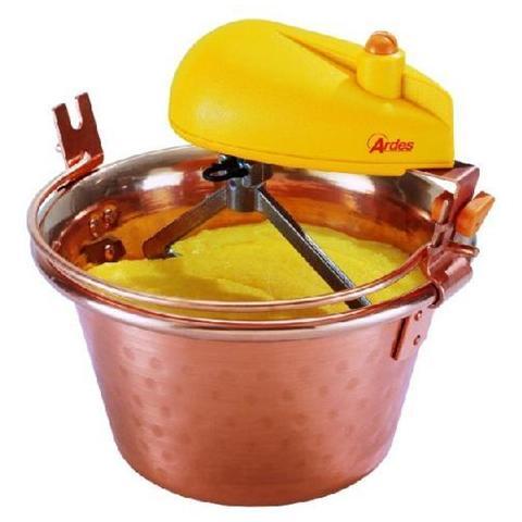 248 Paiolo Elettrico In Rame Con Motore 10 W Diametro 28 cm Capacità 6,5 litri