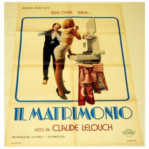 Vendilosubito Manifesto Originale Del Film Il Matrimonio