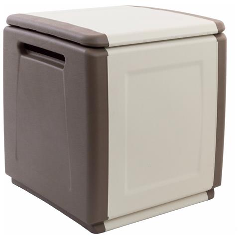 Baule / cassapanca Cube Artplast In Resina / polipropilene Da Esterno L: 540 H: 570 P: 530