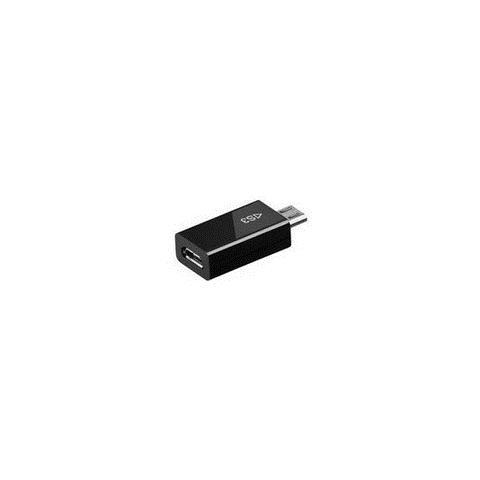 MICROCONNECT USBABMICROVGA1, Micro-USB, HDMI, Maschio / femmina, Nero