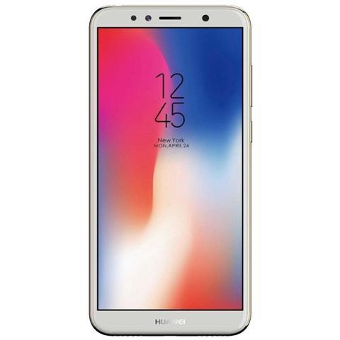 "HUAWEI Y6 2018 Oro 16 GB 4G / LTE Display 5.7"" HD+ Slot Micro SD Fotocamera 13 Mpx Android Italia"