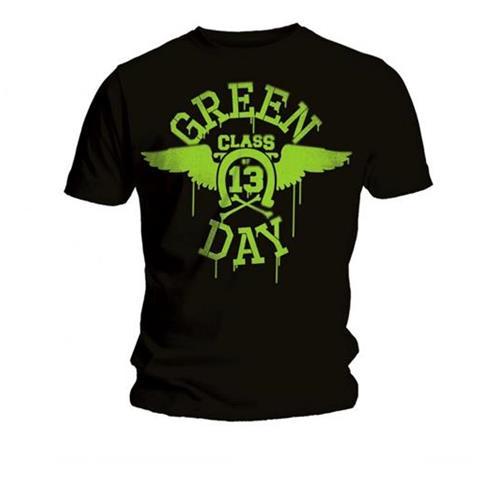 ROCK OFF Green Day - Neon Black (T-Shirt Unisex Tg. M)