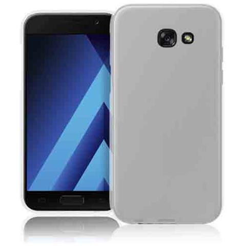 FONEX Pixel Cover Anti Urto 0,4 mm di Spessore in Morbido TPU con Retro Satinato per Samsung Galaxy A5 (7) Colore Trasparente