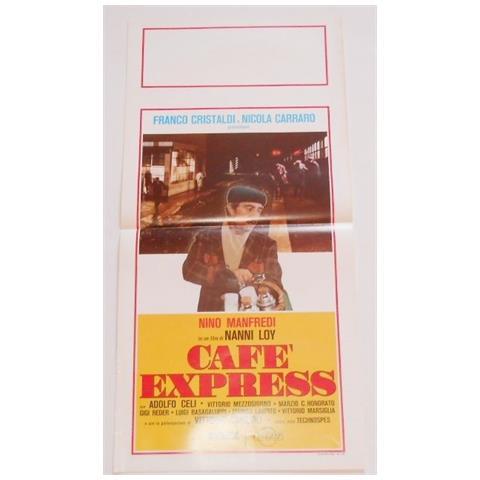 Vendilosubito Locandina Originale Del Film Caffe' Express Con Nino Manfredi 1980