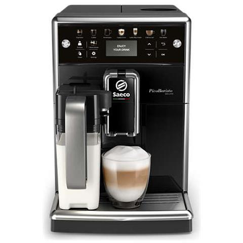 Macchina da Caffè Espresso Automatica PicoBaristo Deluxe Serbatoio 1.7 L Colore Nero