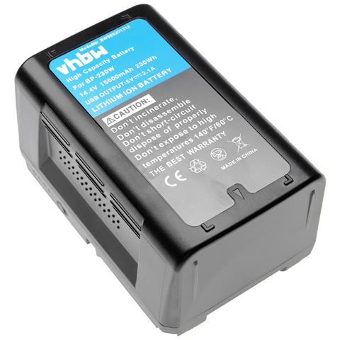 Batteria Compatibile Con Sony Pdw-850 Videocamera Camcorder (15600mah, 14,4v, Li-ion)