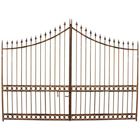 Cancello In Ferro Pieno L404xpr4xh288 Cm