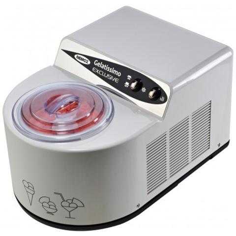Gelatissimo Exclusive Gelatiera Capacità 1,7 Litri Potenza 165 Watt Colore Bianco