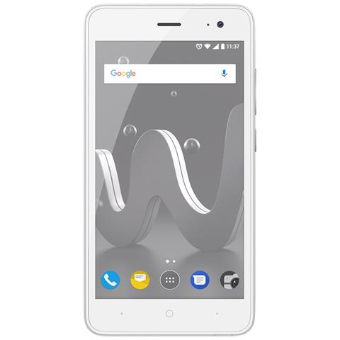 "WIKO Jerry2 Argento 8 GB Dual Sim Display 5"" Slot Micro SD Fotocamera 5 Mpx Android Italia"