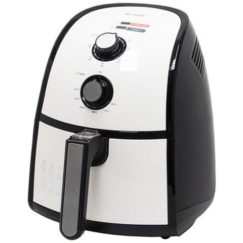 Friggitrice ad Aria Calda FR 3667 H Capacità 2.2 Kg 1500 Watt Colore Bianco / Nero