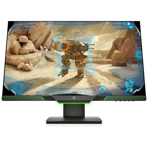 Image of Monitor 24.5'' 25x Monitor Gaming TN, FHD, 144Hz, 1ms, Amd Freesync, Regolabile in Altezza, Audio Output, Low Blue Light, Luce Ambiente Verde