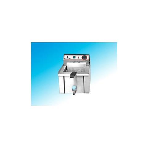 Friggitrice Elettrica Banco Professionale 13 Litri Cm 34x52x37 Rs1021