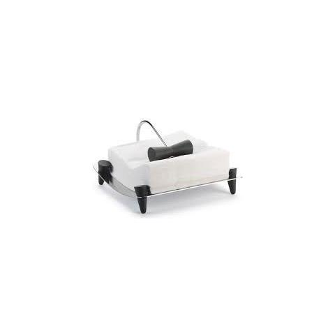 Portatovaglioli Linea Black&white - Black, Legnoe Acciaio Inox