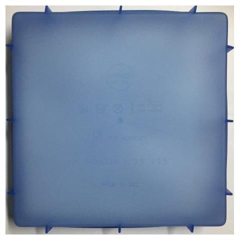 Stampo In Silicone Forma Quadrato, Multicolor, 24x24x4