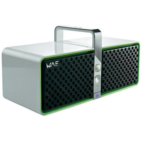HERCULES Sistema Audio Portatile BTP05 Bluetooth Compatibile Apple colore Bianco