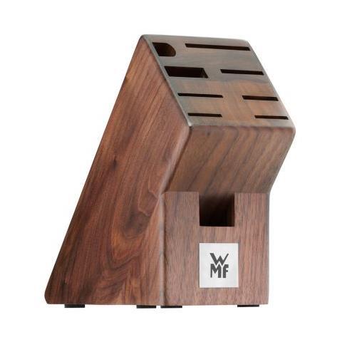 Ceppo portacoltelli in legno di noce