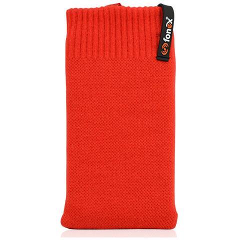 FONEX Feet Plus Fondina in Cotone Elasticizzato Taglia M Colore Rosso