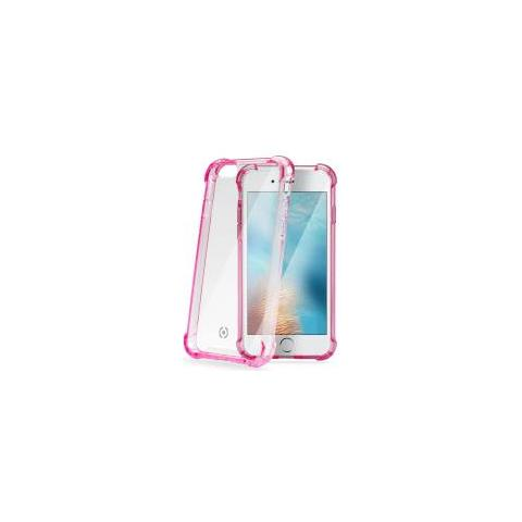 CELLY Cover Rigida Armor per iPhone 7 - Rosa
