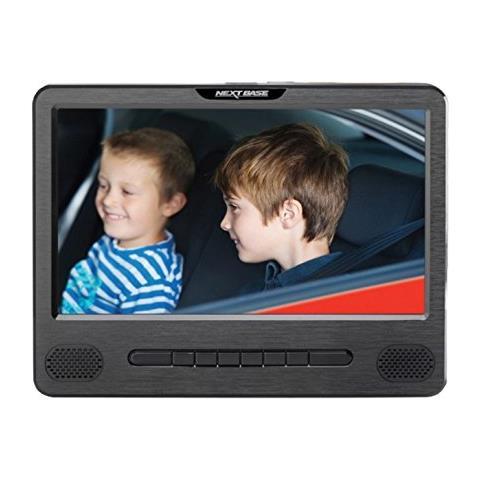 """NEXT BASE Lettore DVD CAR9DUO Portatile per Auto 9"""" Colore Nero"""