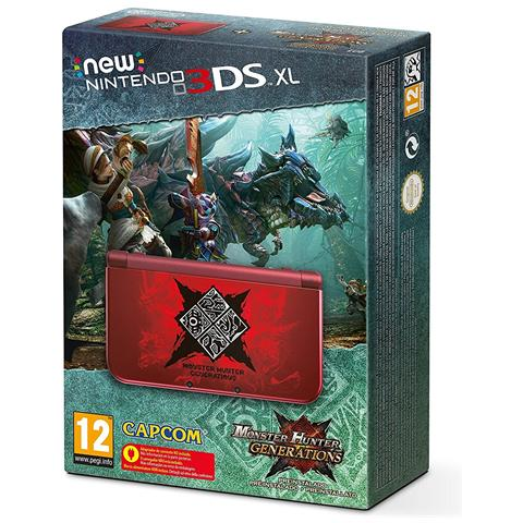 Image of Console New 3DS XL Monster Hunter Limited Edition