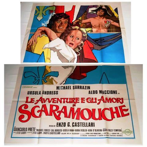Vendilosubito Manifesto A4 Originale Del Film Le Avventure E Gli Amori Di Scaramouche