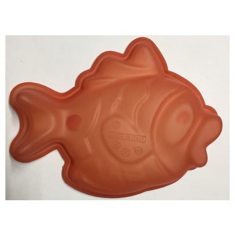 Stampo In Silicone Forma Pesce, Multicolor, 17x12x4