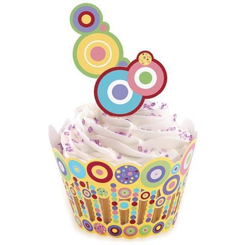 Wrapper Avvolgi Muffin Con Pick Sweet 36 Pz